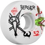 Bones STF Berger Snake V3 Skateboard Wheels