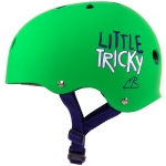 Triple Eight 888 Little Tricky Dual Certified Skateboard Helmet