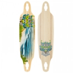 Sector 9 Lookout Bamboo Longboard Deck