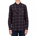 Volcom Kanter Long Sleeve Flannel Shirt