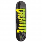 Creature Stained LG Team Skateboard Deck 8.6