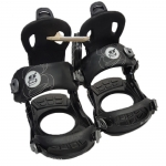 Gnu Demo B-Real Women Snowboard Bindings - Black Large