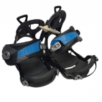 Gnu Demo B-Real Women Snowboard Bindings - Black Small Medium