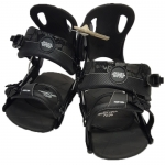Gnu Demo Front Door Snowboard Bindings - Black Large