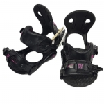 Roxy Demo Classic Women Snowboard Bindings - Black Medium Large