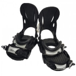 Roxy Demo Classic Women Snowboard Bindings - Black Silver Medium Large