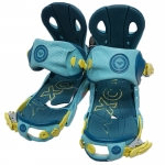 Roxy Demo Classic Women Snowboard Bindings - Blue Small Medium