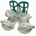 Roxy Demo Team Women Snowboard Bindings - White Medium Large