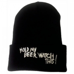 One Ball Jay Hold My Beer Beanie