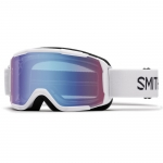 Smith Daredevil White Snowboard Goggles