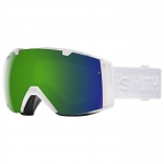 Smith I/O White Eclipse Snowboard Goggles