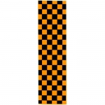Checkered Orange Grip Tape