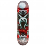 Darkstar Night Owl Youth Mid Complete Skateboard