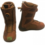 K2 Raider Boa Burnt Orange Snowboard Boots - 8