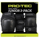 Pro-Tec Junior 3-Pack Youth Skateboard Pads