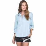 Volcom Cham Hey Long Sleeve Women's Shirt