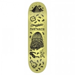 Creature Partanen Tanked Pro Skateboard Deck 8.3