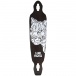 Landyachtz Battle Axe Cougar Longboard Deck