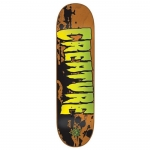Creature Stained XS Team Skateboard Deck 7.4