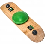 Whirly Board Cork Green