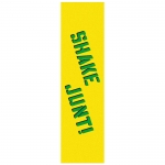 Shake Junt Yellow Green Skateboard Grip Tape