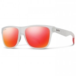 Smith Lowdown Matte Crystal Red Polarized Sunglasses