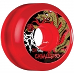 Bones SPF Cab Dragon Clear Red Skateboard Wheels