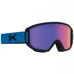 Anon Relapse Jr MFI Black n Blue Youth Snowboard Goggles