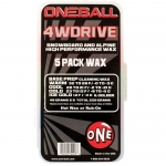 One Ball Jay 4WD 5-Pack Assorted Temp Snowboard Wax