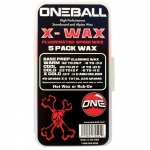 One Ball Jay X-Wax 5-Pack Assorted Temp Snowboard Wax