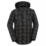Volcom Field Insulated Flannel Snowboard Jacket