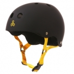 Triple Eight Brainsaver Helmet [Black Rubber]