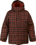 Burton Boys White Collection Bit-O-Heaven [Black Kingdom Plaid Print]