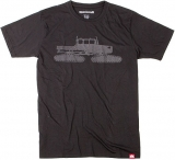 Spacecraft Essential Snowcat Tee [Black]