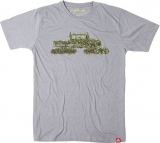 Spacecraft Grass Cat Tee [Grey]