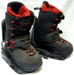 K2 T1 Step-In Boots w/Bindings [Black #101] Men's Size 7