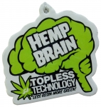 Ride Hemp Brain Airfreshener