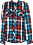 Zoo York Plaid Button Up