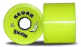 ABEC 11 Big Zigs Reflex Longboard Wheels Yellow 75mm/83a