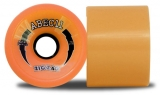 ABEC 11 Zig Zags Reflex Longboard Wheels Orange 70mm/86a