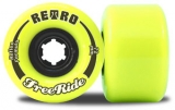 Retro FreeRide Reflex Longboard Wheels Lemon 72mm/83a