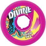 Divine Touch Longboard Wheels Purple 70mm/78a