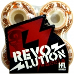 Revolution Big Red Skateboard Wheels 51mm