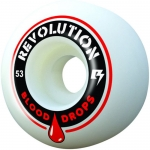 Revolution Blood Drops Skateboard Wheels 53mm