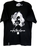 LRG Enjoy the Silence Tee Black