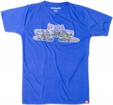 Spacecraft Skyline Cat Tee