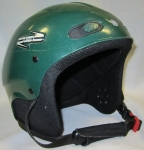 RED Skycap Helmet - Green, X-Small