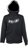 Volcom Youth Penalty Full Zip Logo Hoody