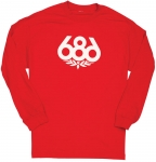 686 Wreath Long Sleeve Tee