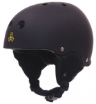 Triple Eight Old School Audio Rubber Snowboard Helmet